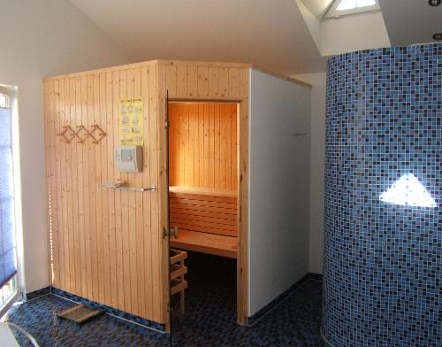 Ostseeheilbad Zingst: Sauna für Wohnungen DEICHIDYLL und SEELORD
